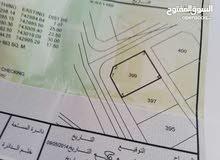 أرض للبيع في جعلان بني بو علي القرحه2 مساحتها 663 قريب من الخدمات