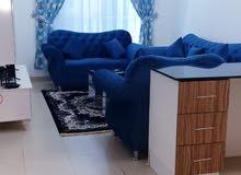 غرفة وصاله بابراج الستى تاور بعجمان سوبر ديلوكس اول ساكن بسعر 3500 شامل مع انترن