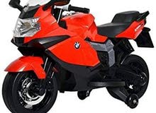 Licensed ride on BMW motorcycle Red color