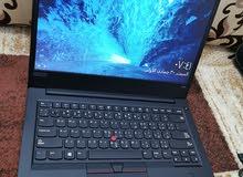 لاب توب Lenovo i7 ثينك باد E480 كرتين شاشةالجيل الثامن SSD