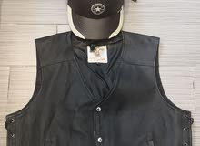leather Helmet and Jacket for sale