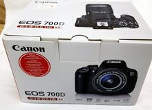 canon  700d  touchscreen  professional camra weth box