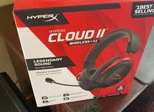 New HyperX Cloud II Wireless Gaming Headset Red