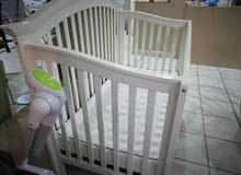 سرير اطفال من الولادة لعمر خمس سنوات