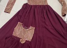 فستان تفصيل شبه جديد