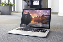 للبيع ماك بوك برو مستعمل نظيف جداMacBook Pro /256 GB SSD/8 GB RAM