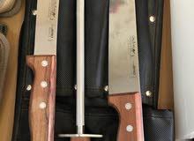 طقم سكاكين جيرو برتغالي -للعيد-أضاحي- اضحية-رحلات-كشتات-بر-لوازم