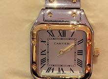 للبيع ساعة كارتير نساءي درجة اولي طبق الاصل