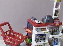لعبة سوبر ماركت مع عرباية تسوق
