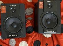سبيكرات استوديو (مونيترز) M audio BX5a