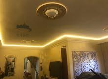تركيب اضاءة مخفيه وتركيب الواح  PVC  نخب اول محلي للأسقف والجدران
