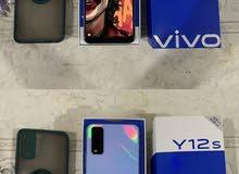للبيع تلفون vivo y12s شبه جديد مستعمل 4 شهور فقط