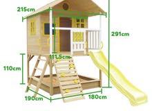 بيت خشبي للاطفال