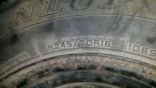 2 عجلات دان لوب أمريكيات R16 /245/70