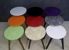 الوان طاولات السيرفيس 3D يوجد 12 لون