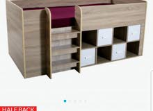 high storage bed from homebox