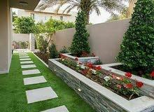 ديكورات حدائق منزلية بالرياض 0552901315