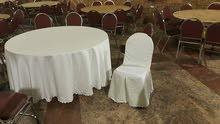 تفصيل شراشف وغطاء كراسي للصالات... وتفصيل فرش لكراسي السامبا وكراسي الحدائق