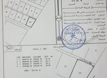 ارض موقع ممتاز  للبيع 614 متر مربع في ولاية السويق منطقة الخضراء ،اباحة بناء جاهزة