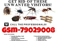 pest control and cleaning 100% guaranteed services