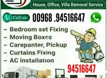 House shifting,labour supply,paint work,carpenters,plumbing and transports we ha
