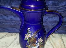 دلة قهوة زجاج صناعة يباني