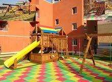 Wooden Playground equipment . ألعاب خشبية للأطقال