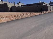 قطعة ارض للبيع 500متر قاريونس طريق طرابلس