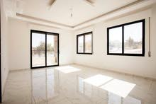 شقة  سوبر ديلوكس 127م2 طابق اول ذات طلالة رائعة في الجبيهة
