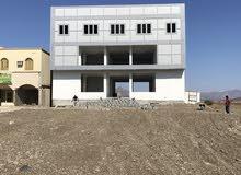 بناية للاجار مصممه لمركز تجاري او مجمع صحي في موقع استراتيجي