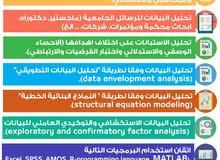 تحليل البيانات واعداد التقارير الاحصائية والختامية