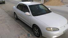 Manual White Hyundai 1996 for sale