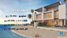 Fourth Floor  apartment for sale with Studio rooms - Seeb city The Wave Muscat