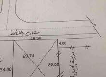 قطعة أرض 418 م للبيع في تغسات.