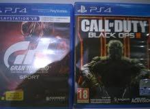 Call of duty Black Op3 & Grand turismo فقط ب20 دينار