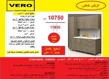 مطبخ خشب 220سم/ المطبخ كونتر 18 مللى10750 جنيه بدلا من 11950