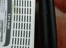جهاز ويرليس انترنت ماركة Tp. Link اصلي مع الشاحن الاصلي استخدام خفيف