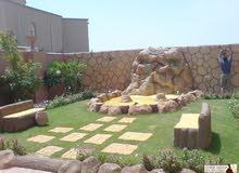 تنسيق الحدائق وعمل جميع انواع تنسيق حدائق