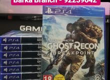 ps4 game ghost recon break point