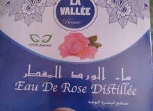ماء الوردالمقطر %100 طبيعي