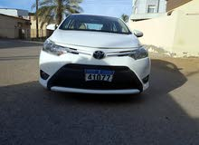White Toyota Yaris 2015 for sale