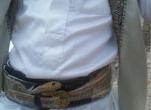 جلد ثعبان افعي طبيعي جاهز حزام طوله حوالي متر