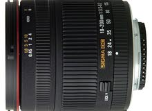 عدسة للنيكون sigma dc 18-200 for nikon