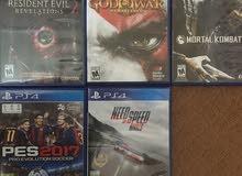 ألعاب PS4 شبه جديدة
