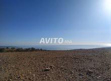 terrain haute taghazot 3600 m pret de plage 1km