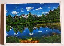 لوحة للطبيعة