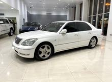 Lexus LS-430 /  2004 (White)