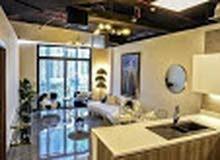 للبيع افخم شقة ادفع 55 الف وامتلك شقة غرفة وصالة وسط دبي  وقسط على 5 سنوات دون فوائد دون بنوك