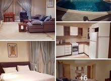 Sea View Furnished 1 BR with Balcony in Salmiya