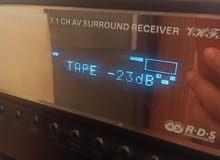 7.1 amplifier 7 speaker all good condition